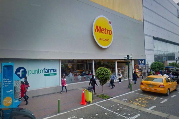 Supermercado Metro donde compramos la SIM