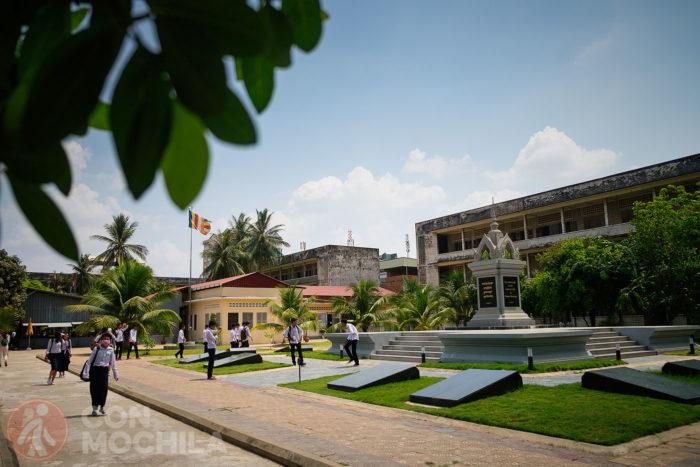 Vista general del Tuol Sleng