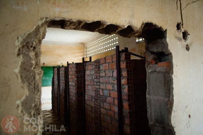 Otra imagen de las celdas