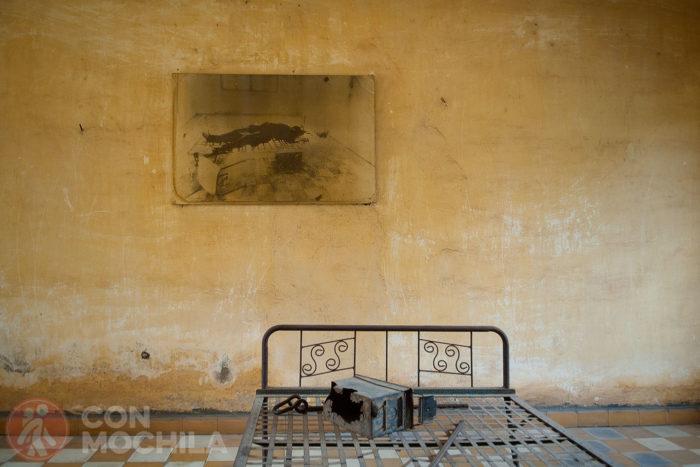 Otra de las personas torturadas en Tuol Sleng