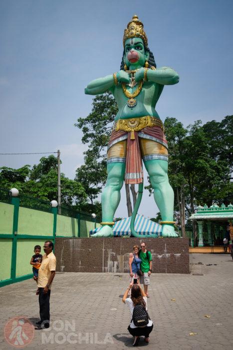 La gran estatua de Hanuman