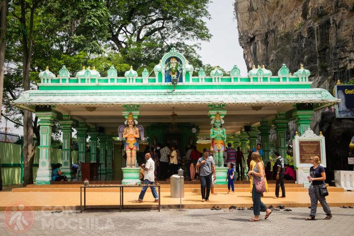 El templo dedicado a Rama