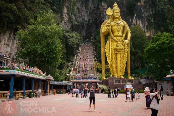 Las famosas Batu Caves de Kuala Lumpur