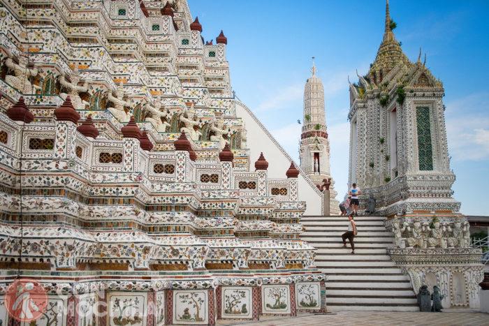 Segunda terraza del Wat Arun