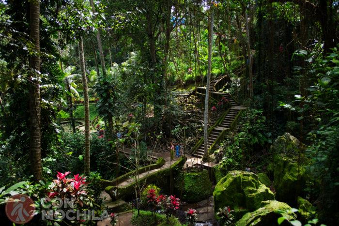 Bello e impresionante jardín
