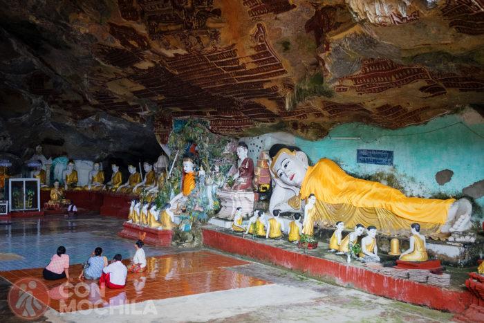 La cueva del Buda reclinado