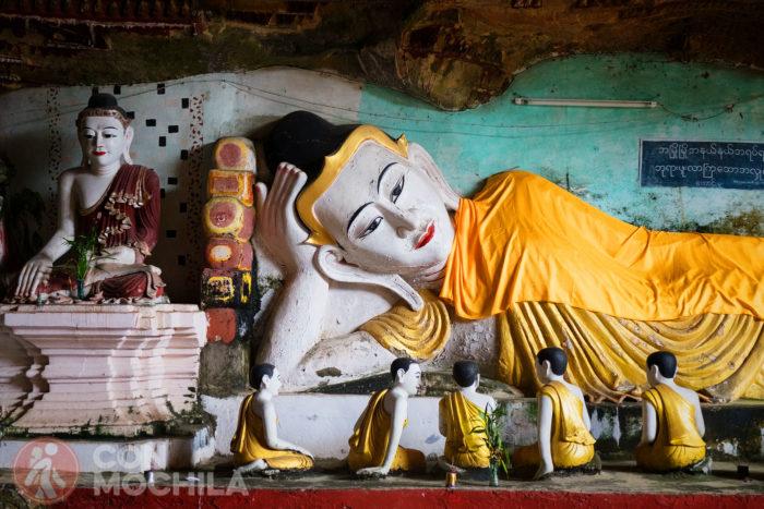 Detalle de la imagen de Buda