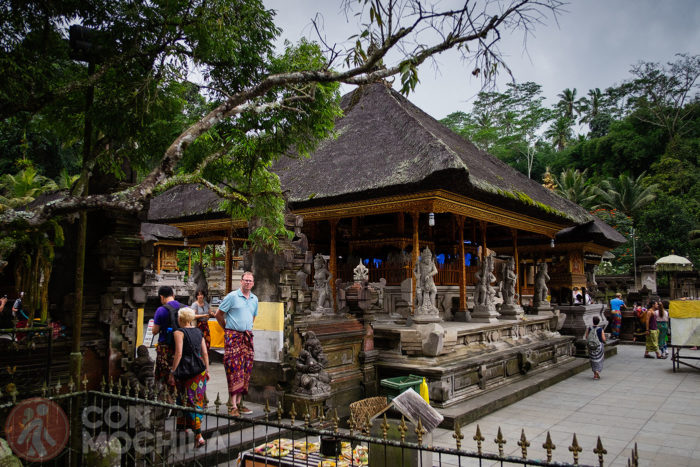 Uno de los templos de rezo de uno de los patios