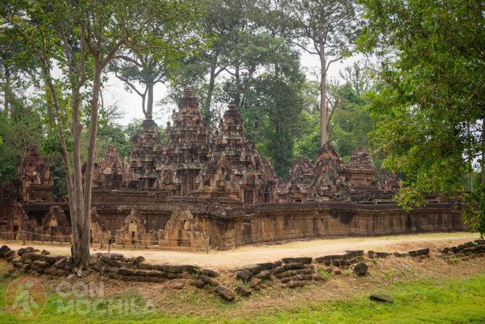 Y otra zona del templo