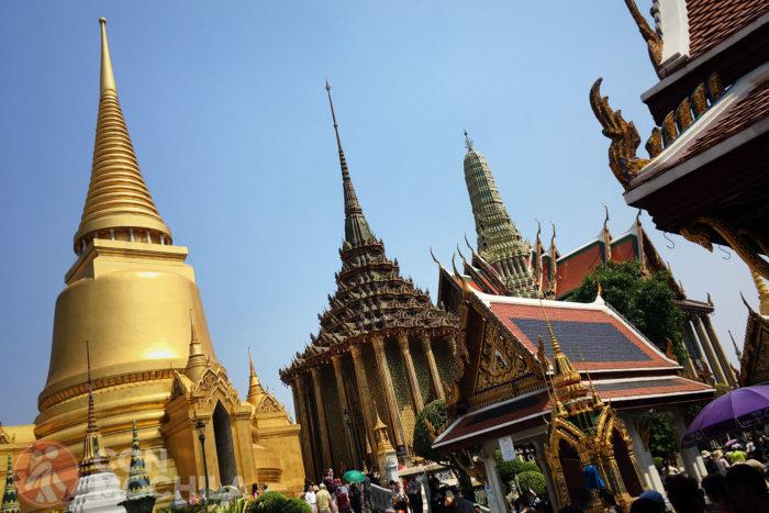 Que ver en Bangkok: El gran palacio de Bangkok