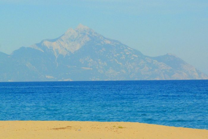 Halkidiki - Sarti (vista monte Atos)