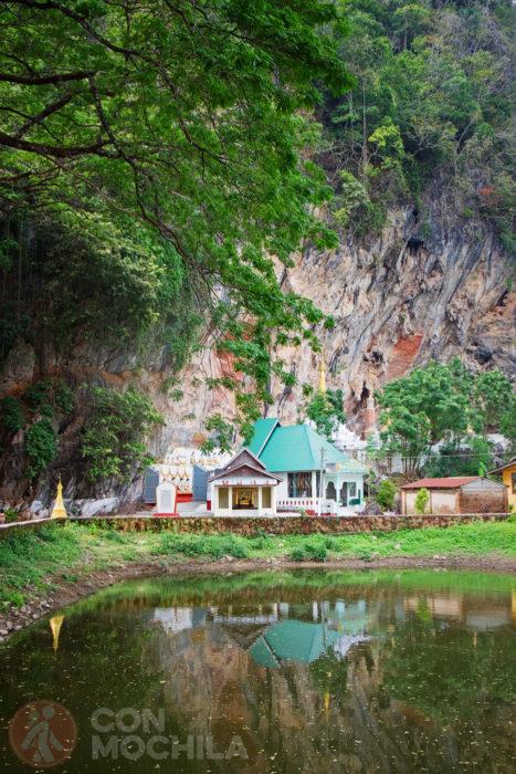 Enclave donde se encuentra la Kawgun cave
