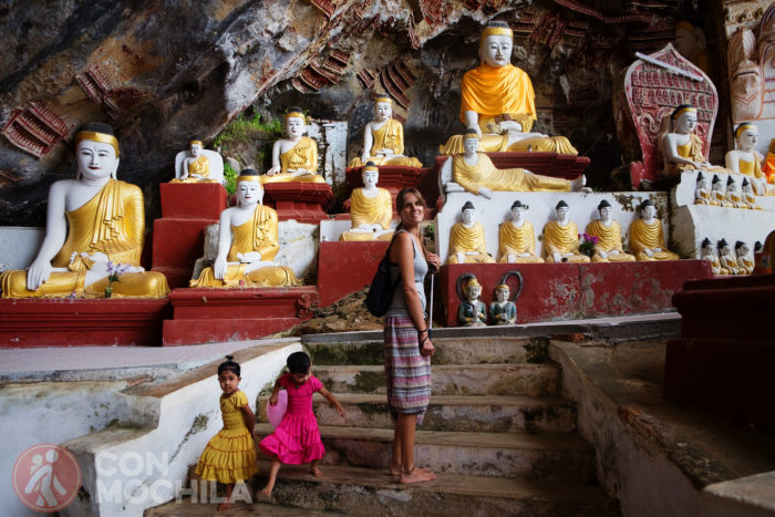 Bienvenidos a la Kaw Goon cave de Hpa-An