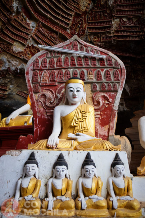 Más figuras de Buda
