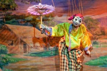 Teatro de marionetas de Mandalay