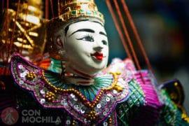 Htwe Oo Teatro de marionetas Yangon