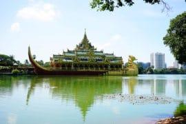 Lago Kandawgyi Yangon