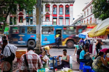 Arquitectura Colonial Yangon