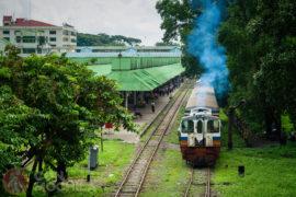 Tren circular Yangon