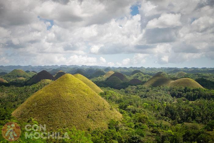 Colinas de Chocolate (Chocolate Hills) de Bohol