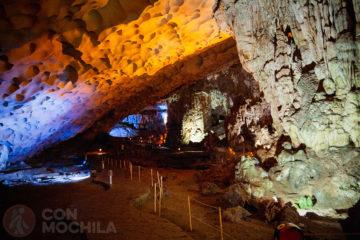 Guía de viaje Bahía de Halong Cueva Hang Sung Sot