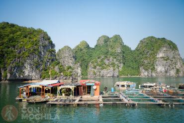 Guía de viaje Bahía de Halong Pueblos Flotantes