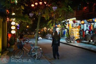 Guia de viaje Hoi An de noche