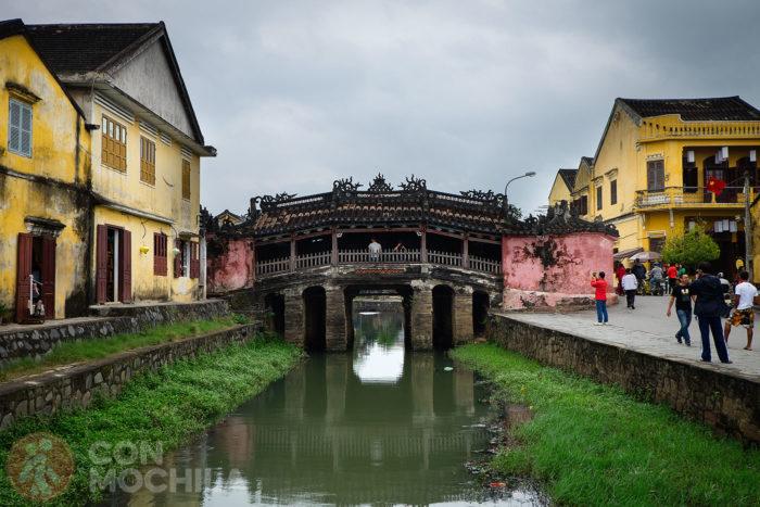Guia de viaje Hoi An Puente cubierto japonés