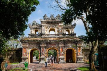 Guia de viaje Hue Puerta de Chuong Duc