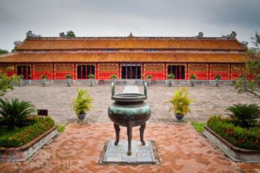 Guia de viaje Hue Templo To Mieu