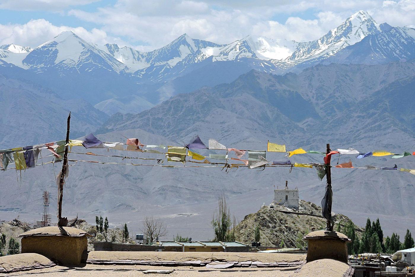 Balcones del Himalaya, India