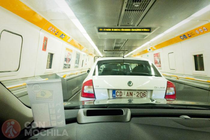 ¡Y a viajar por el túnel!