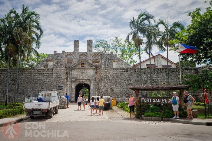 Fuerte de San Pedro de Cebú, en Filipinas