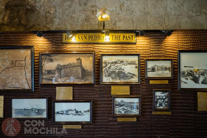Imágenes sobre el pasado del Fuerte de San Pedro