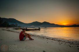 Guia de viaje Koh Phangan Ao Chaloklum Beach