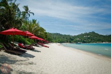 Guia de viaje Koh Phangan Ao Thon Nai Pan Beach