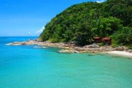 Guia de viaje Koh Phangan Haad Thong Reng Beach