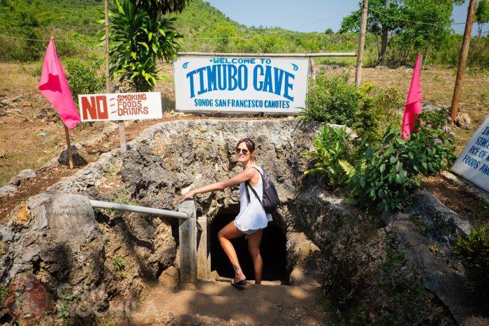 Timubo cave, la piscina subterránea de islas Camotes