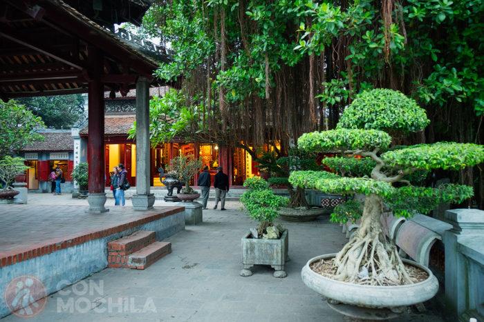 Isla de Jade donde está el templo Ngoc Son