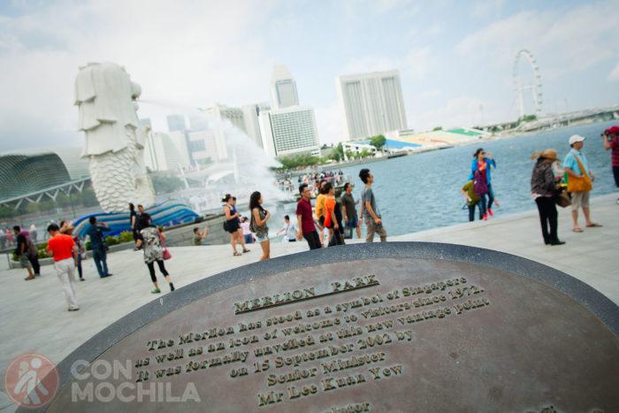 Merlion Park en Singapur
