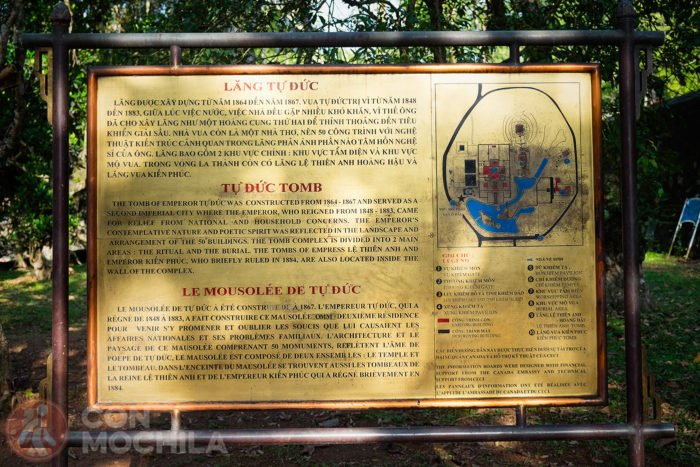 Mapa del complejo