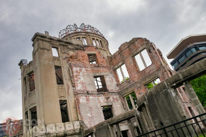 El A-Bomb Dome conservado tal cual como quedó
