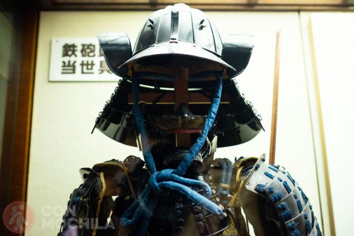 Una armadura de un guerrero
