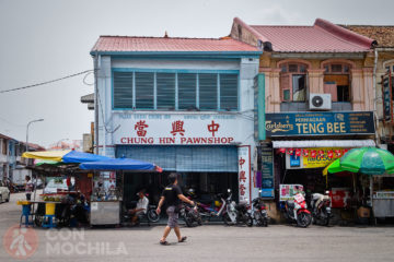 Guia de viaje Georgetown Barrio Chino Chinatown