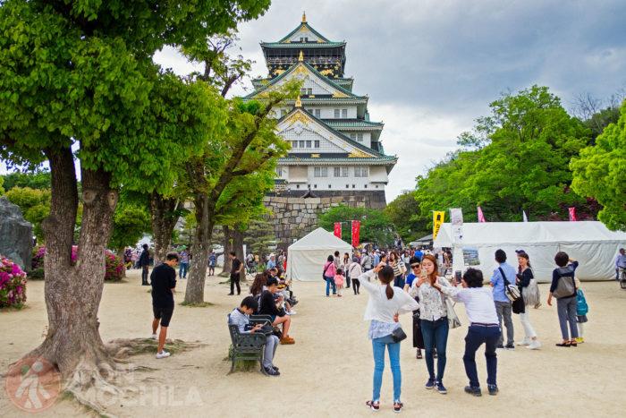 Entrada de acceso al famoso castillo