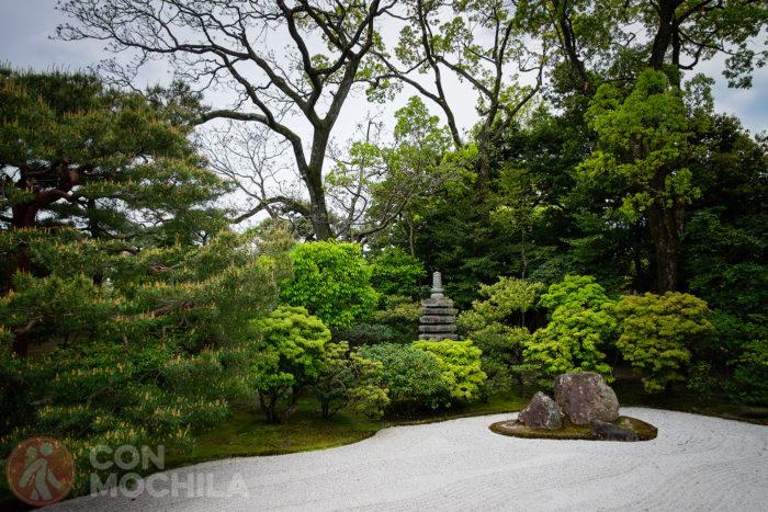 Otro detalle del jardín zen