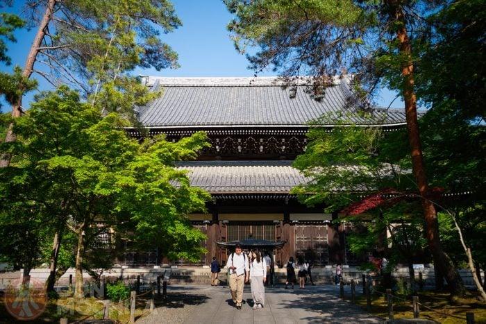 El templo Nanzen-Ji de Kioto