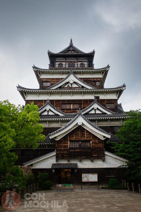 Los 5 pisos del castillo de Hiroshima