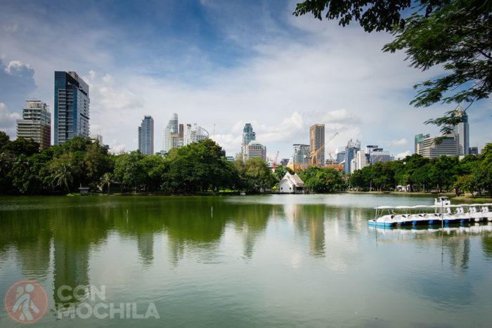 Lumphini Park y su famoso lago