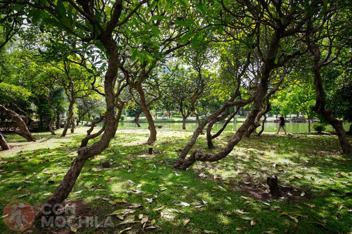 Jardines de Lumphini Park